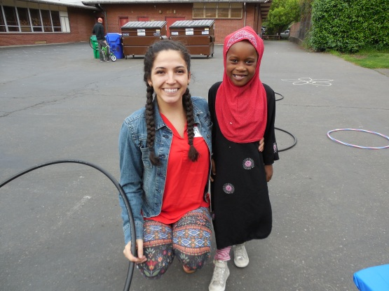 Marwa & Paige at Ice Cream Social